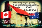 CANADA AND AUSTRALIA PERMANENT RESIDENCY VISA